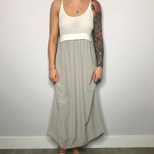 WILFRED BISOUS MAXI DRESS